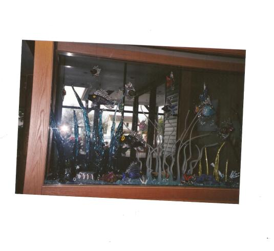 Stained Glass Aquarium