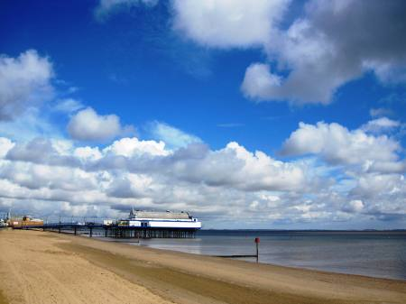 Cleethorpes Pier and Beach