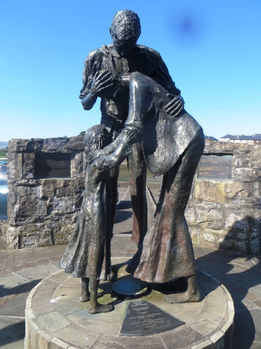 Sligo Irish Famine Statue