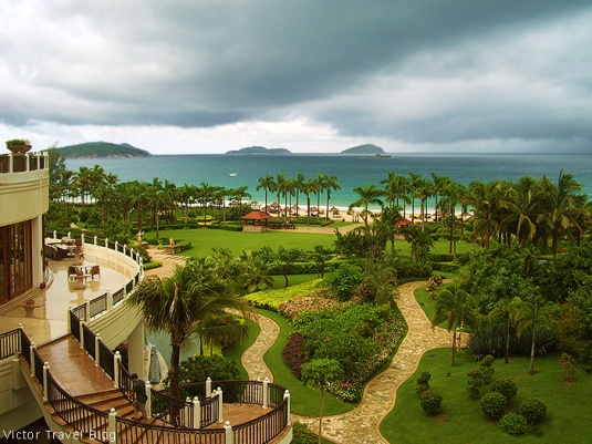 Sanya Marriott Resort & Spa. Hainan Island, China.