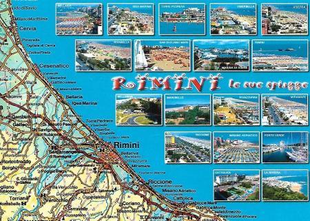Rimini Postcard