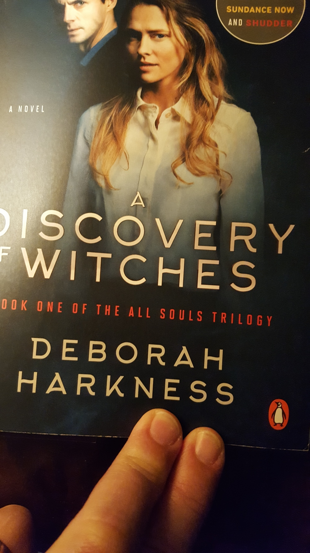 20190219_091341 (1) Discovery of Witches book